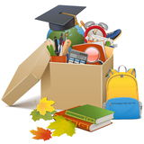 Vector School Box Stock Photography