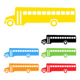Vector school bus Stock Photos