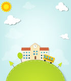 Vector school Stock Images