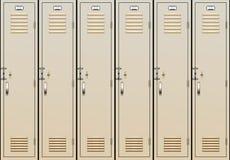 Vector school lockers Stock Photo