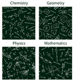 Vector school patterns Stock Image