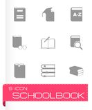 Vector schoolbook icon set Stock Photo