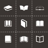 Vector schoolbook icons set Royalty Free Stock Photography