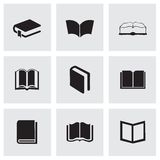Vector schoolbook icons set Royalty Free Stock Photo