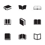 Vector schoolbook icons set Stock Photos
