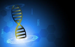 Vector science computer hi tech concept background Stock Photo