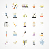 Vector Science Web Icons Royalty Free Stock Images