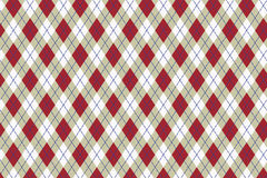 Vector Scottish pattern Stock Image