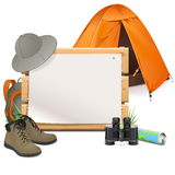 Vector Scouting Board Stock Photography