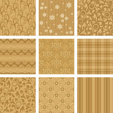 Vector Scrapbook set. Seamless background Collection, vector Illustration stock illustration