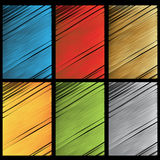 Vector scratch textures Stock Image