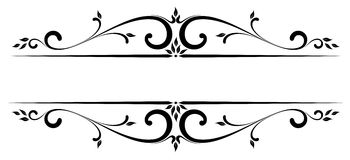 Free Vector Scroll Accent Stock Images - 72658304