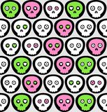 Vector scull pattern design Stock Images