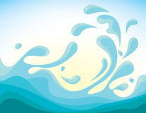 Vector sea Royalty Free Stock Photos