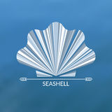Vector sea shell. Multicolor concept Royalty Free Stock Images