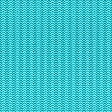 Vector sea waves minimal seamless texture or pattern.  Royalty Free Stock Photography