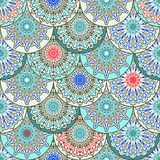 Vector  Seamles Eastern Pattern Royalty Free Stock Images