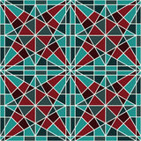 Vector  Seamles Eastern Pattern Stock Image
