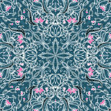 Vector seamles floral pattern Stock Photography