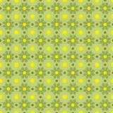 Vector Seamles Geometric Green Pattern Stock Images