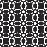 Vector seamles pattern. Of elements Stock Photos