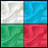 Vector Seamles Satin Abstract Background Set Royalty Free Stock Photos
