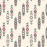 Vector Seamles Tribal Pattern Royalty Free Stock Images