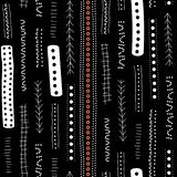 Vector seamless aboriginal pattern including ethnic Australian motive with typical elements. Vector seamless aboriginal pattern including ethnic Australian Stock Illustration