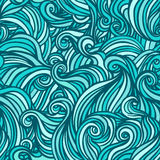 Vector seamless abstract hand-drawn pattern Stock Photography