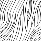 Vector seamless abstract hand-drawn pattern Royalty Free Stock Images