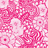 Vector seamless abstract hand-drawn pattern design vector illustration