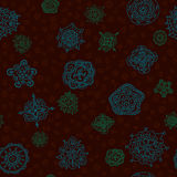 Vector seamless abstract hand-drawn pattern Stock Photo