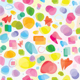 Vector seamless of abstract pattern Stock Photo