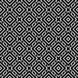 Vector seamless abstract pattern black and white. abstract background wallpaper. vector illustration. Heart, backdrop. Black and white Seamless Repeating Vector vector illustration