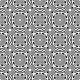 Vector seamless abstract pattern black and white. abstract background wallpaper. stock photography