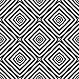 Vector seamless abstract pattern black and white. abstract background wallpaper. Many uses for printing,screen saver,book covers etc Stock Illustration