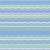 Vector seamless abstract pattern, waves Royalty Free Stock Images