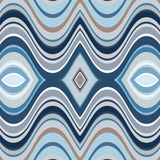 Vector Seamless Abstract Wavy Background Royalty Free Stock Image