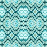 Vector Seamless Abstract Wavy Background Royalty Free Stock Photos