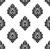Vector. Seamless ancient damask pattern Stock Image