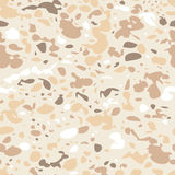 Vector seamless animal pastel beige pattern. Royalty Free Stock Photography