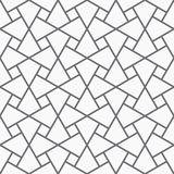 Vector seamless arabic pattern. Royalty Free Stock Photography
