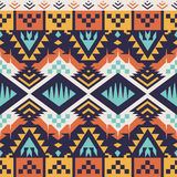 Vector Seamless Aztec Pattern for Textile Design. Tribal Style royalty free illustration