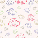 Vector seamless baby boy pattern background. Boyish wallpaper. Vector seamless baby boy pattern background. Background. Boyish wallpaper.Pattern with hand drawn Royalty Free Stock Photos