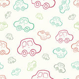 Vector seamless baby boy pattern background. Boyish wallpaper. Vector seamless baby boy pattern background. Background. Boyish wallpaper.Pattern with hand drawn Stock Images