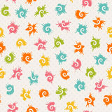 Vector seamless baby pattern Stock Image