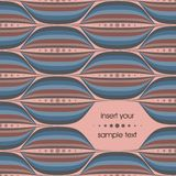 Vector seamless background. In vintage style Vector Illustration