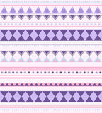 Vector seamless background aztec pattern Royalty Free Stock Photo