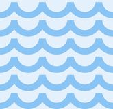 Vector seamless background. Ethnic pattern.Simulation of waves Royalty Free Stock Images
