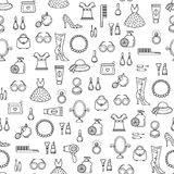 Vector seamless background Royalty Free Stock Photography